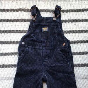 Navy OshKosh overalls // 2T